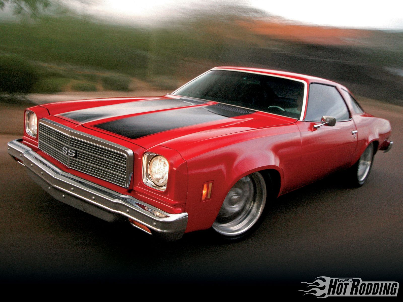 1974 Chevrolet Chevelle Malibu Chevy 383 Small Block Engine Hot