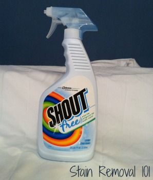 Shout Free Stain Remover Reviews Hypoallergenic Pretreater