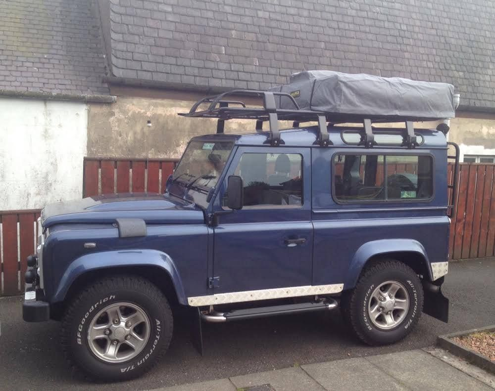 Defender 90 with Direct 4x4u0027s Expedition Roof Tent - #Defender #landrover #expedition & Defender 90 with Direct 4x4u0027s Expedition Roof Tent - #Defender ...