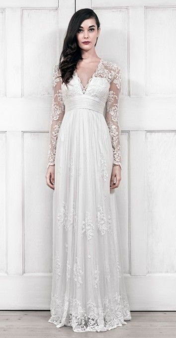 Used Bhldn Catherine Deane Lia Wedding Dress Size 10 1 000 Used Wedding Dresses Wedding Dress Long Sleeve Wedding Dresses Uk