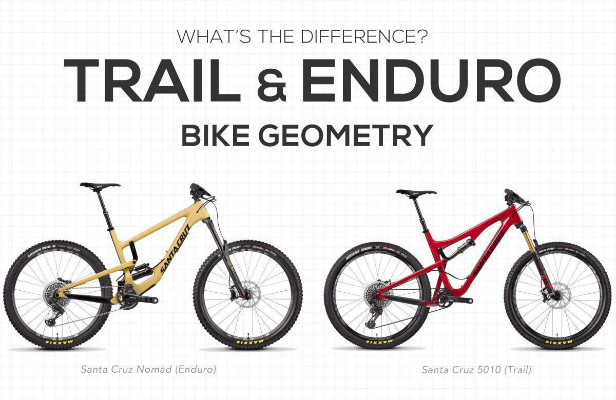 What S The Difference Between Trail Bike And Enduro Bike Geometry
