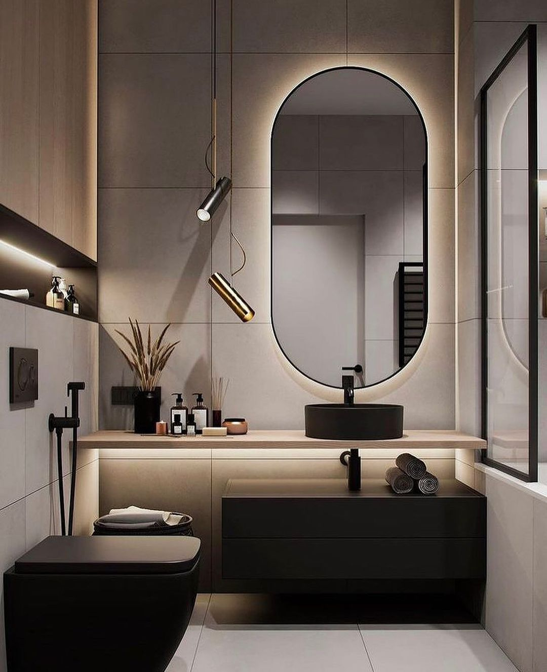 30 Best Modern Bathroom Ideas In 2021 In 2021 Bathroom Interior Design Washroom Design Modern Bathroom Design Bathroom design ideas 2021