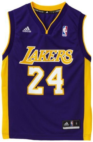 newest 45b70 97266 NBA Los Angeles Lakers Youth Kobe Bryant Road Replica Jersey ...