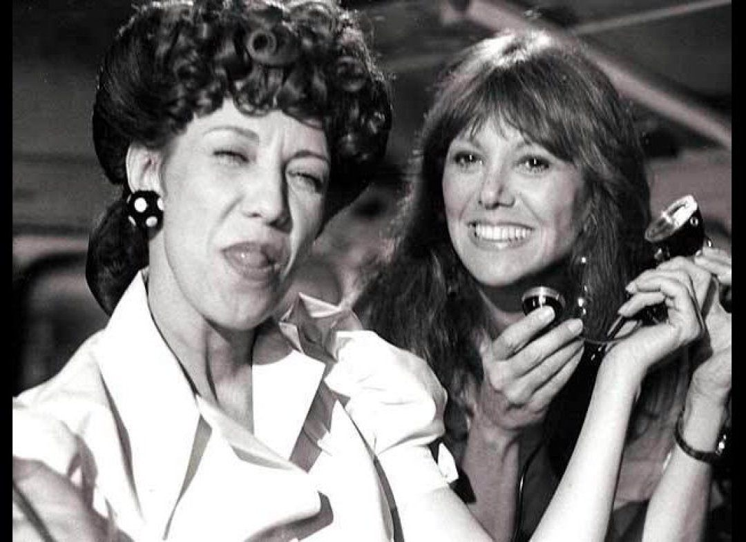 "My dear friend Lily Tomlin makes me laugh all the time, but this is the wildly funny character many people associate with her -- Ernestine the telephone operator. Who can forget her ""one ringy-dingy.... two ringy-dingy..."" routine? In this skit on ""Free to Be...A Family"" Ernestine dialed the Soviet Union to link them up to the USA."