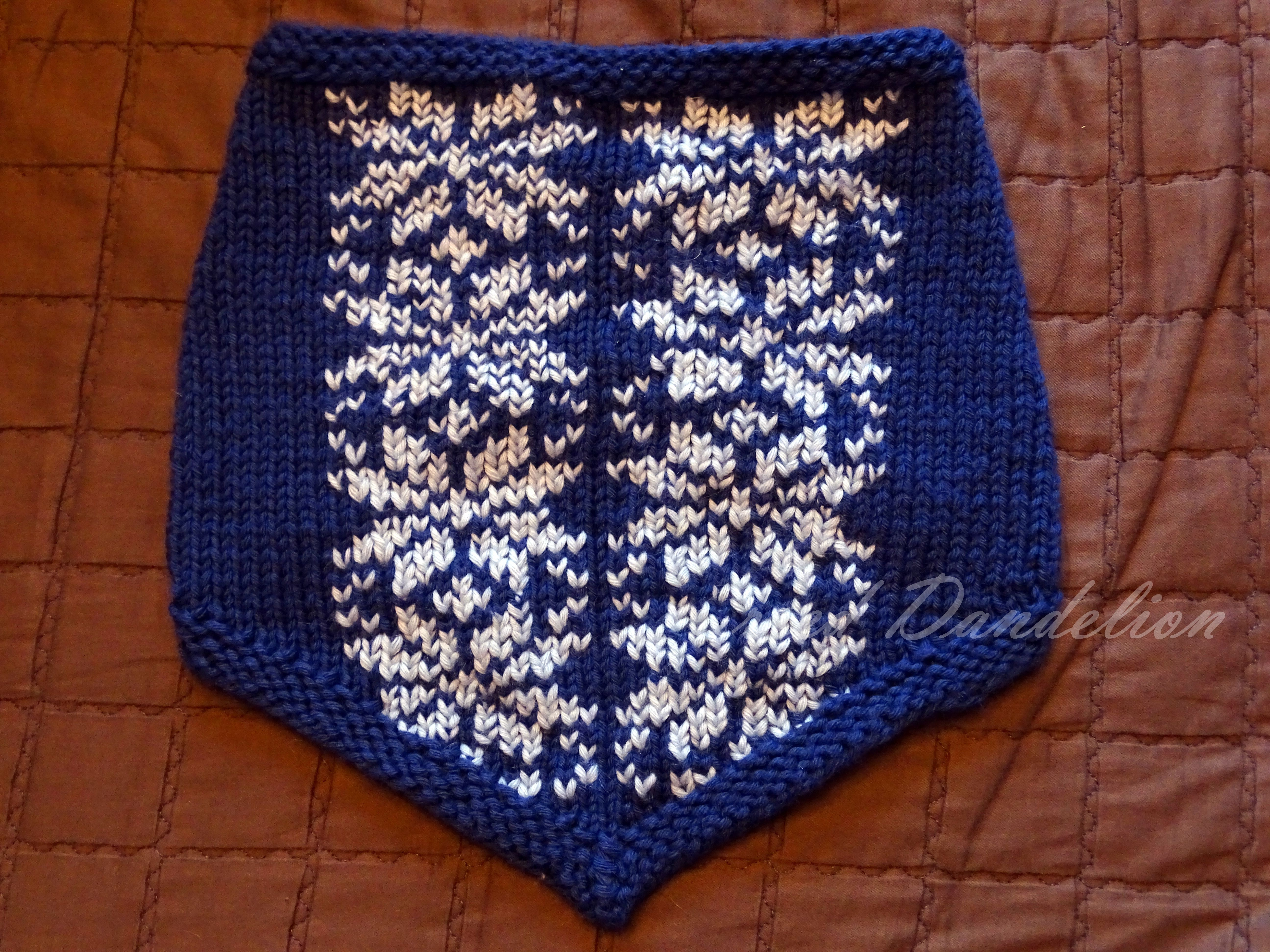 scarf,purl soho pattern