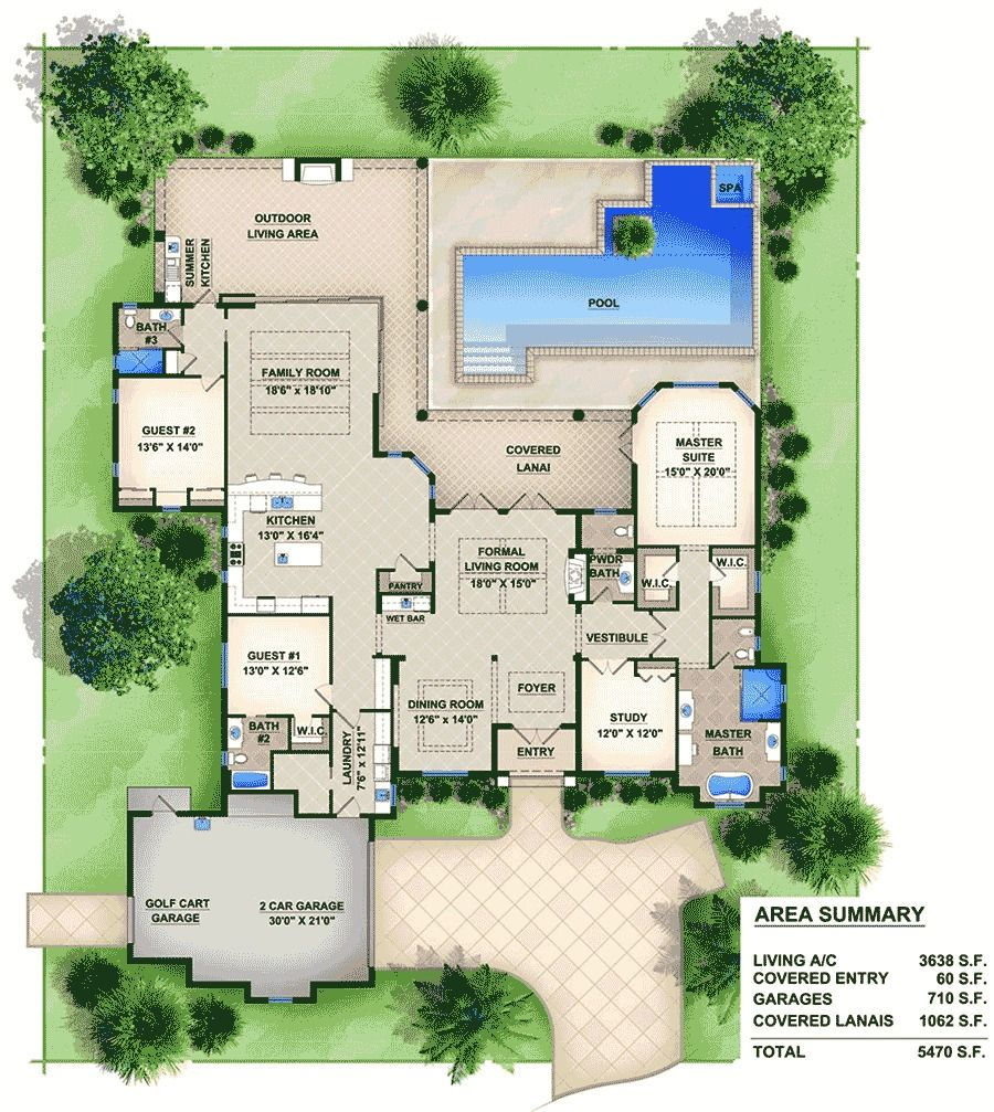 Mediterranean Style Homes For Sale In Florida: Plan 65600BS: Fabulous Mediterranean Home Plan