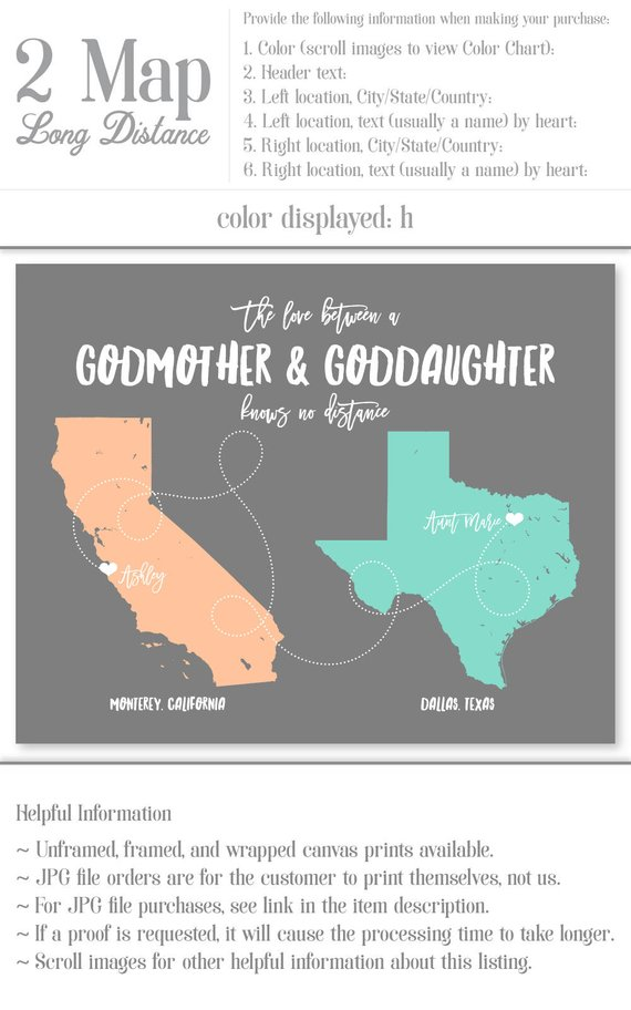 Godmother Gift for Godmother Christmas Gift for Godmother Gift for