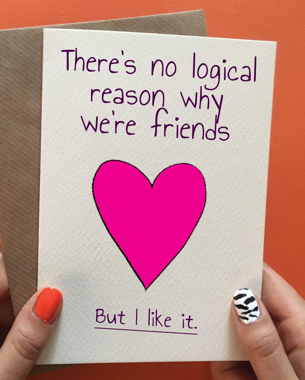 Funny birthday card best friend birthday gift idea. Pin it for later!  #bestfriendgifts