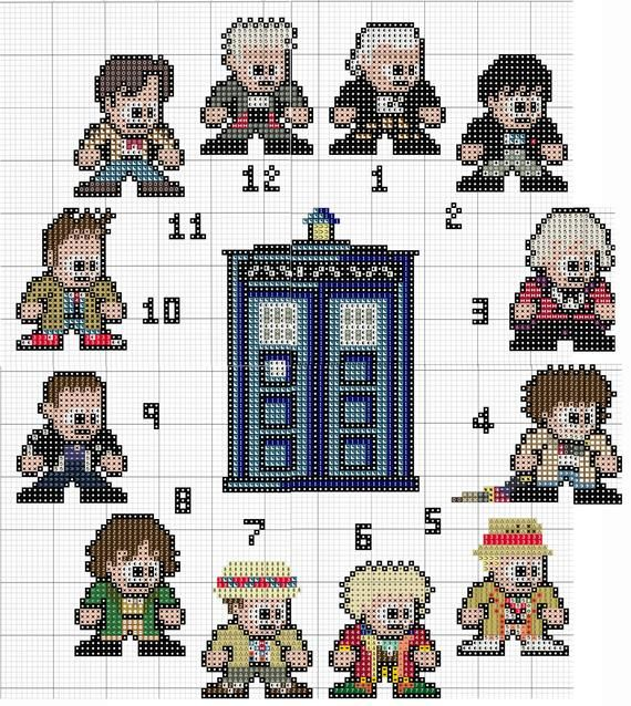 12 Doctors and the TARDIS
