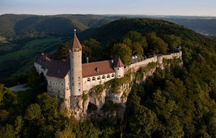 Awesome Teck Castle near Stuttgart