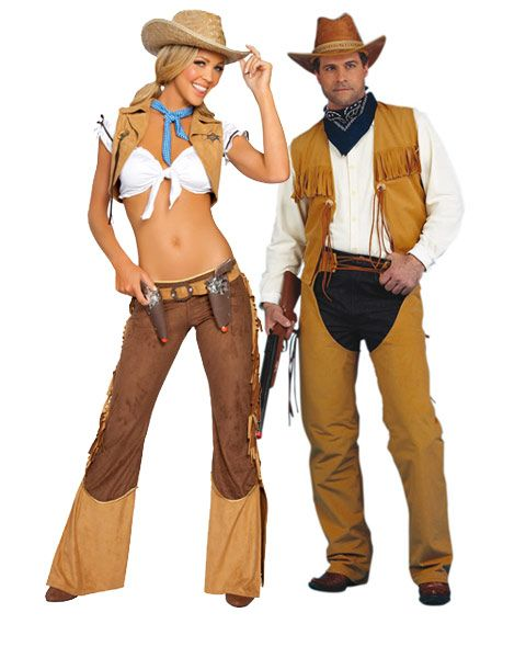 788d42fd7d620 Sexy Wild West Cowgirl Sheriff Adult Couples Costume   WHAT EVER I ...