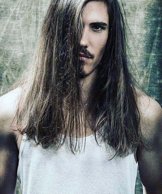 Long Black Straight Hair Styles Hunky Men Pictures Long Hair Beard Hair Styles Hair And Beard Styles