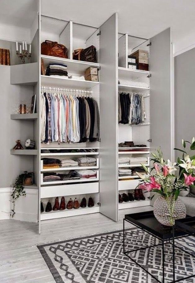 35 Spare Bedrooms That Turned Into Dream Closets (domino)