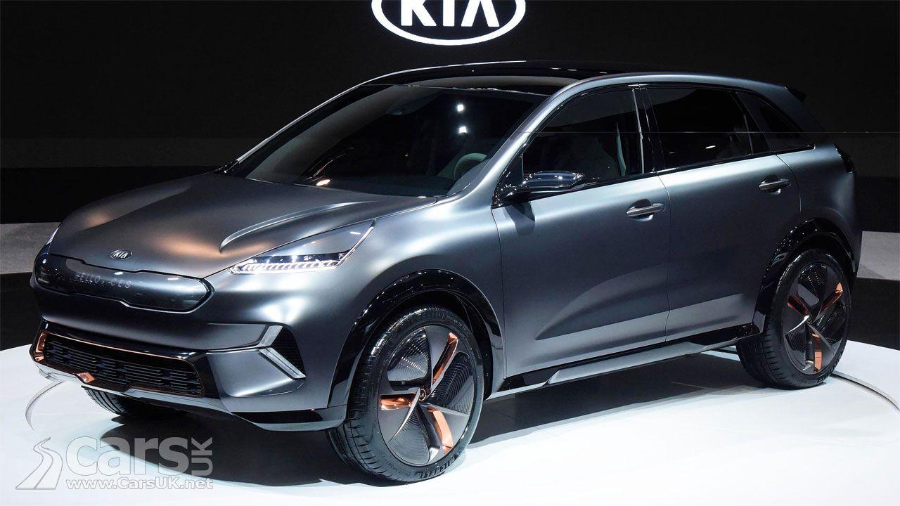 Kia Niro Ev Concept Debuts At Ces 238 Mile Range For Kia S Electric Niro Cars Uk Kia Electric Crossover Cars Uk