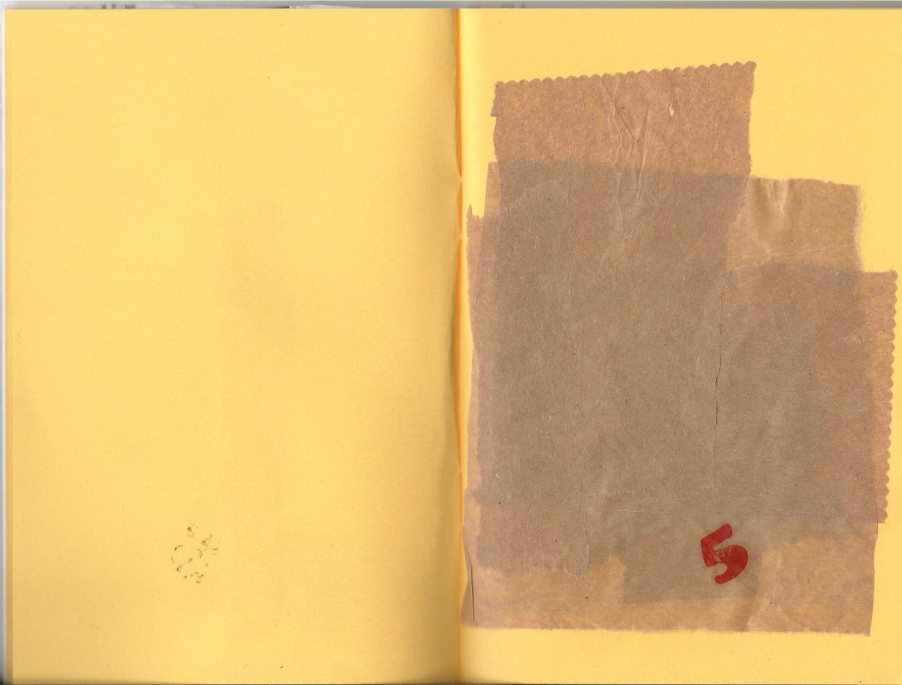 collage i tinta tampó