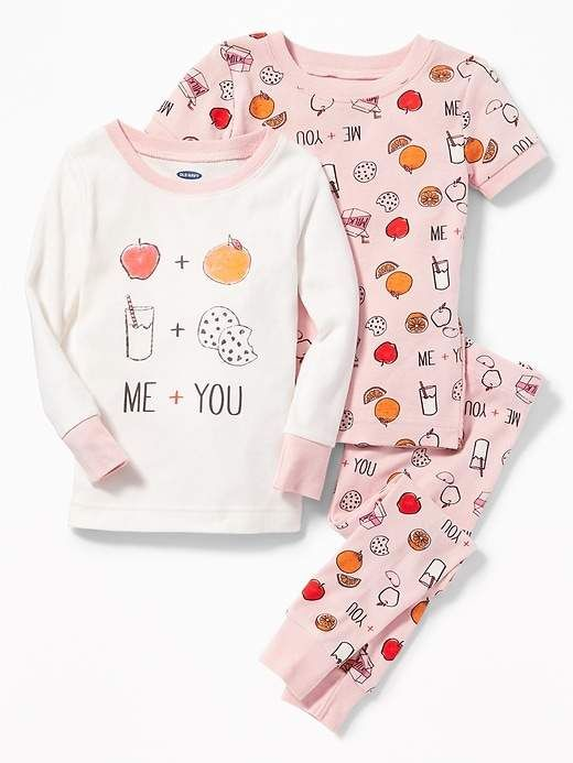 Old Navy 3-Piece Graphic Sleep Set for Toddler   Baby e020bade64