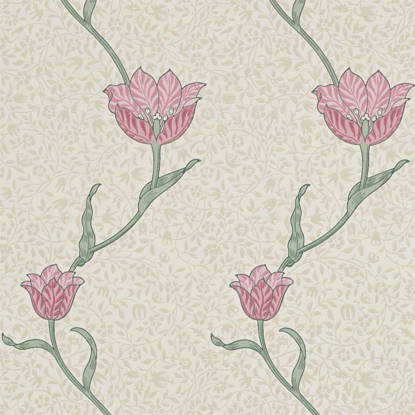 Designed by Morris in 1885 Garden Tulip is a simple ...