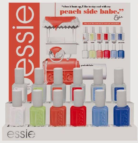 Essie Peach Side Babe 2015 Summer Collection | Esmalte