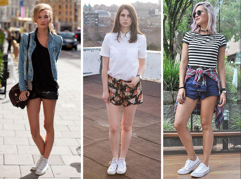 Inspirações para usar o tênis branco