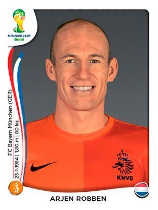 Holanda - Arjen  Robben