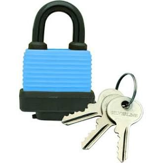 50mm Weather Resistant Padlock by Silverline Tools 598493