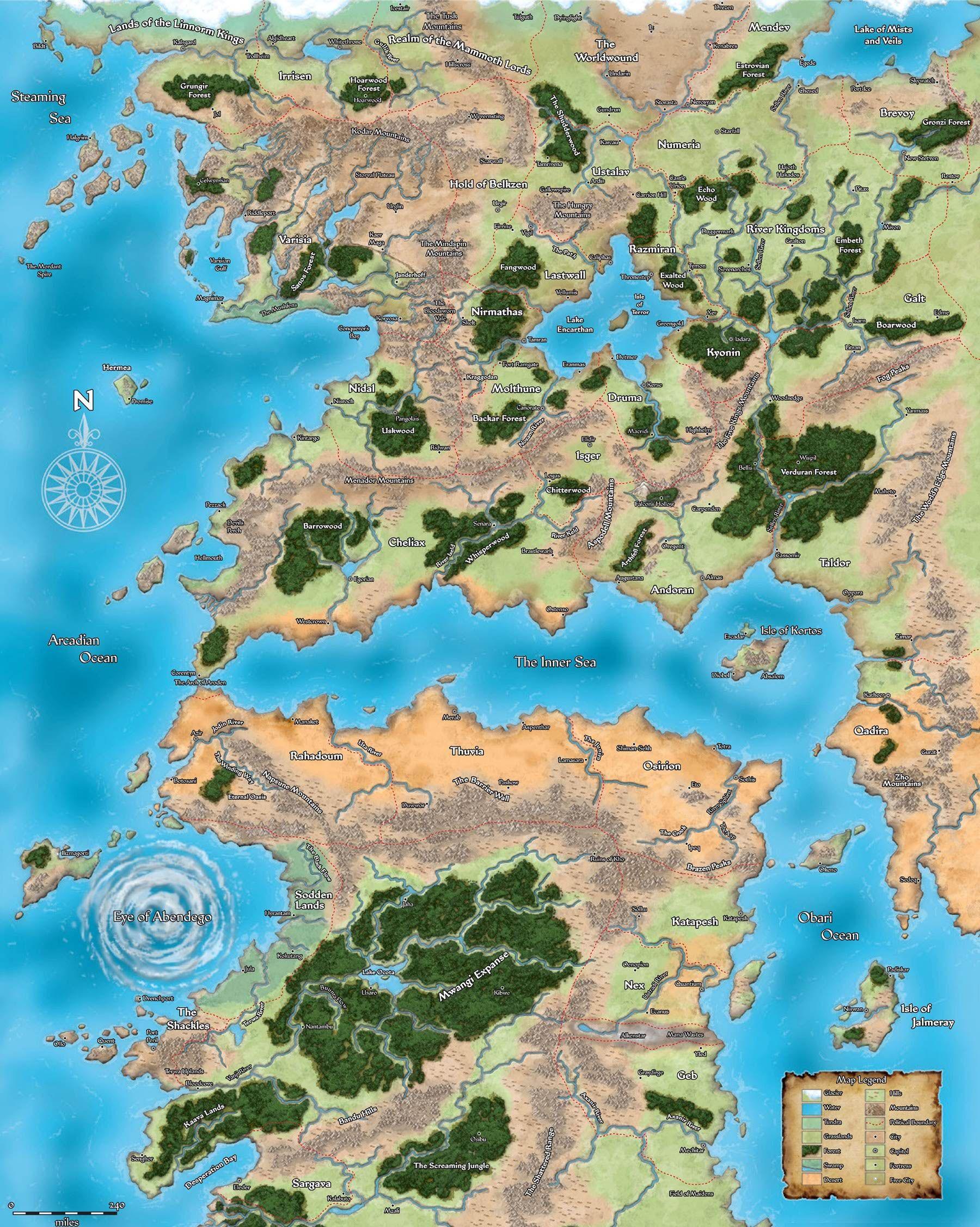 Pathfinder 2.0: Erik Mona on Future Adventures in Golarion