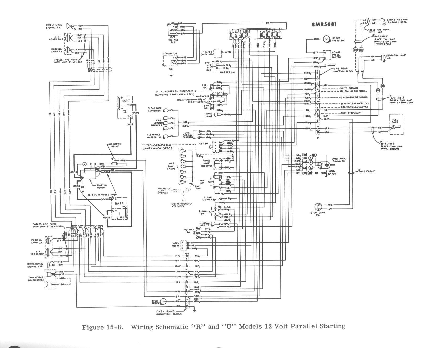 Mack Truck Wiring - wiring diagram on the net on