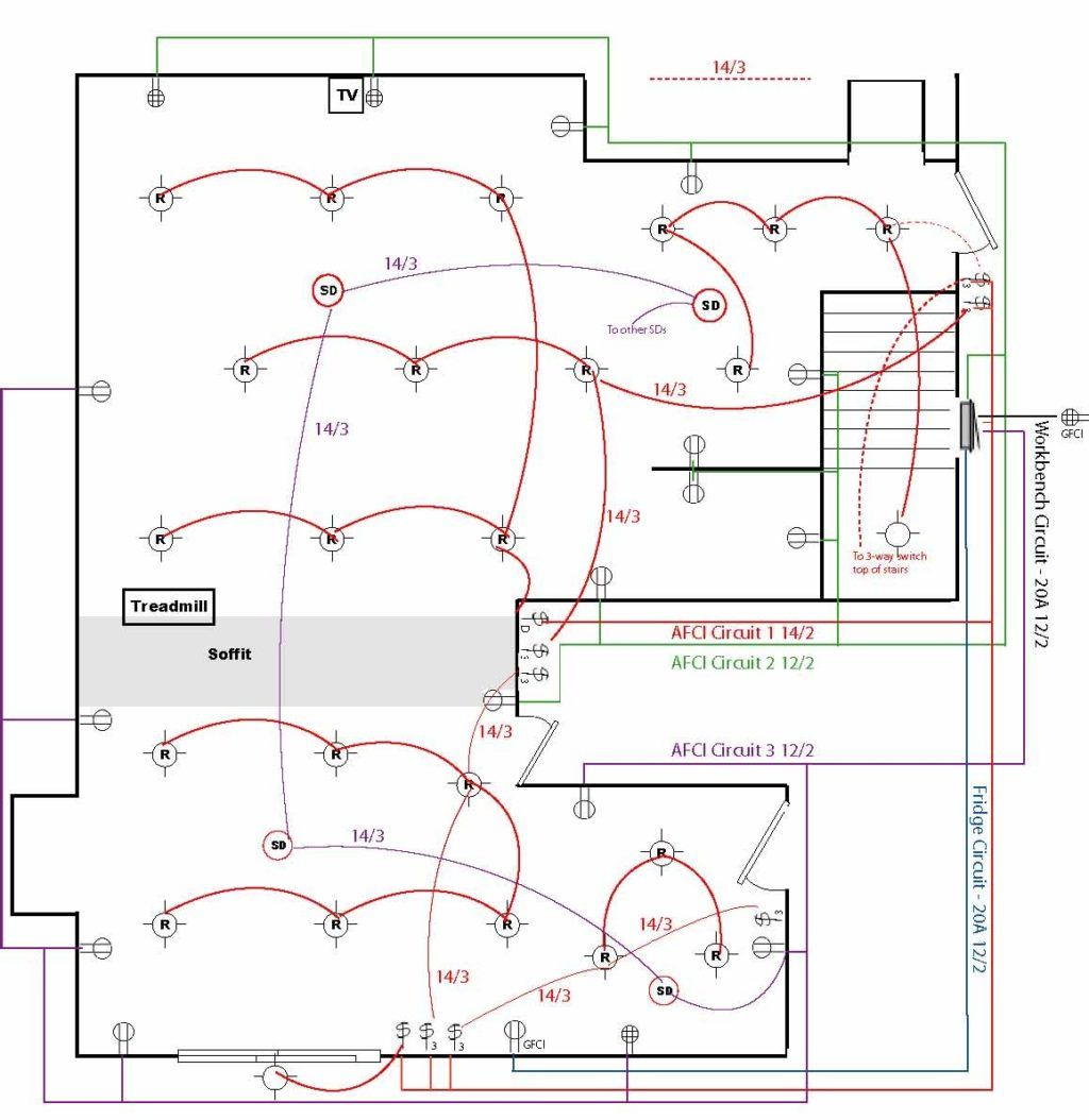 13 Good Wiring Diagram For House Outlets Design Home
