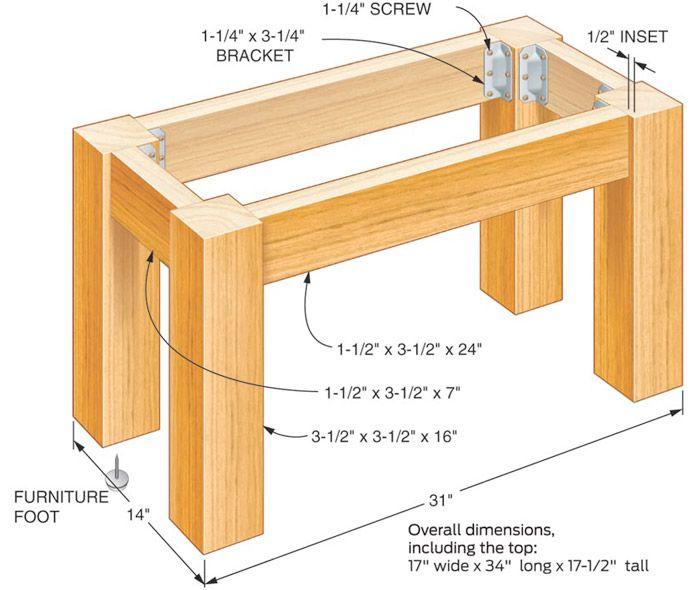 Fern Imprint Concrete Tabletop Build A Table Diy Outdoor Table