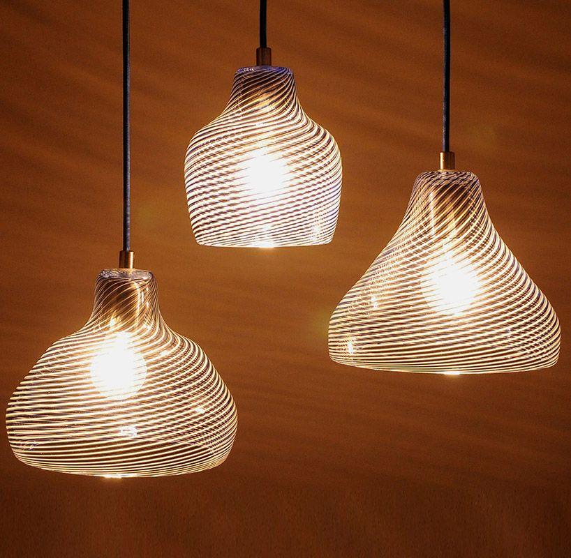 Moirai Lamps by Rezzan Hasoglu
