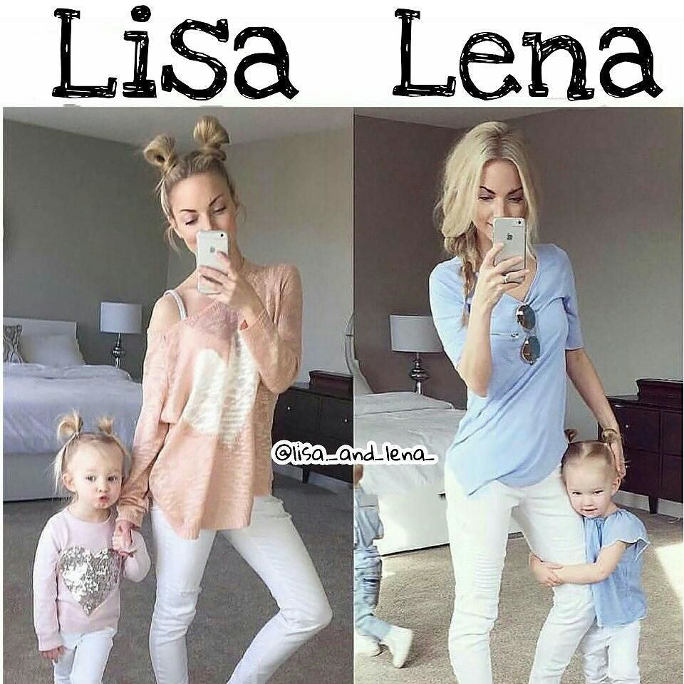 What would you choose ? Lisa or lena Follow us for more I