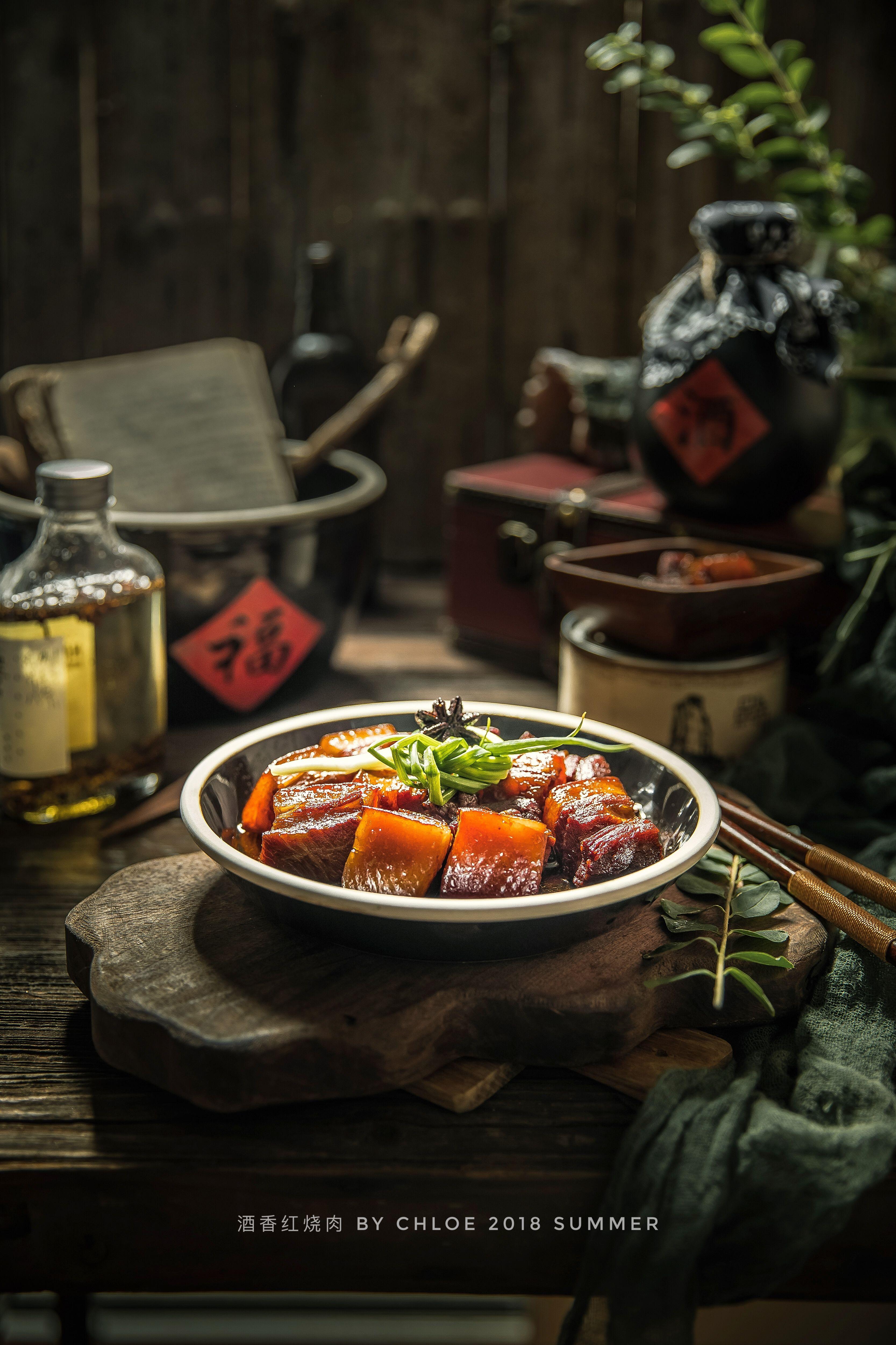 绝味红烧肉 chinese braised pork photography di 2020 Makanan