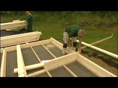 Maison en kit  un jeu du0027enfant ? - YouTube Strobouw Pinterest - jeux de construction de maison en d