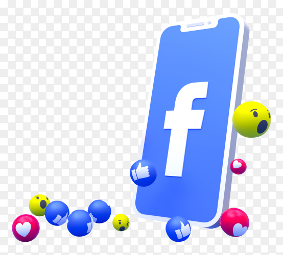 Facebook Logo Symbol On Smartphone Screen With 3d Emojis On Transparent Background Png Iphone Wallpaper For Guys Instagram Logo Emoji Backgrounds