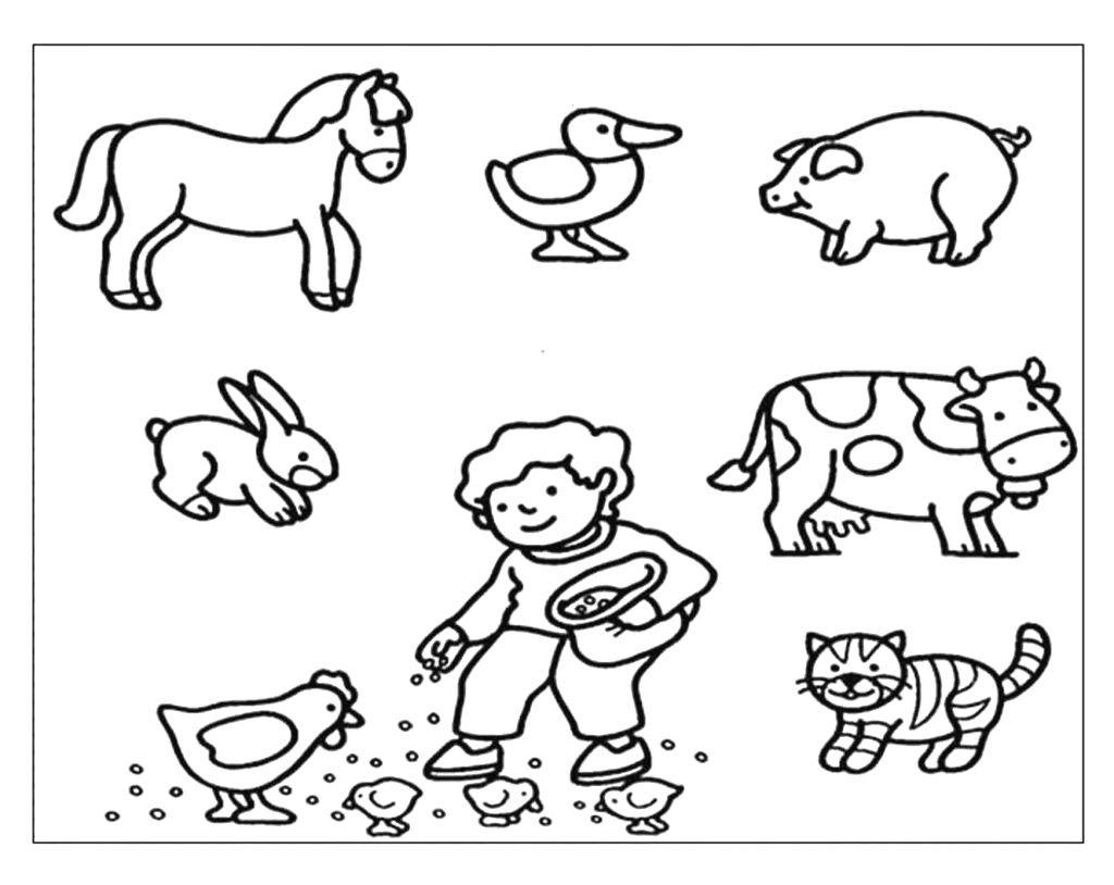Pin Di Caty Grillo Su Idee Nel 2020 Disegni Da Colorare Cuccioli Della Fattoria Libri Da Colorare