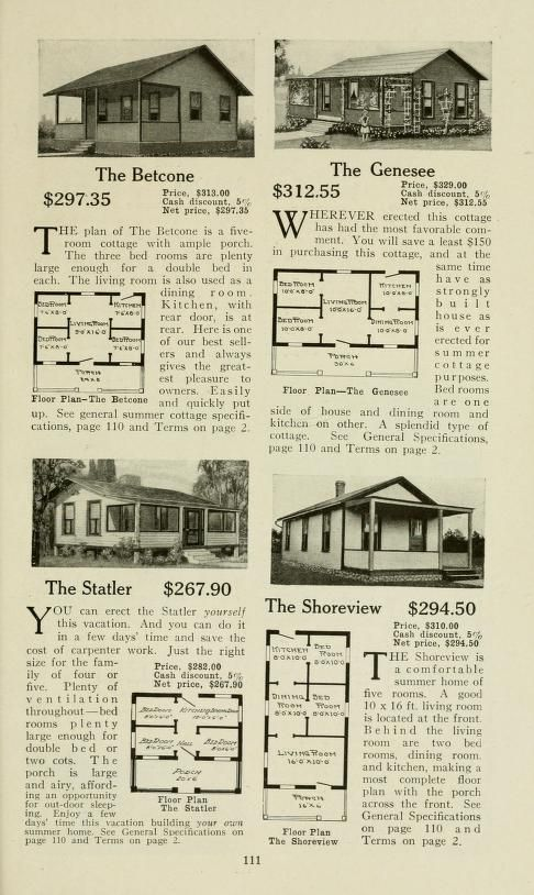 PDF Aladdin Built in a Day House Catalog, 1917 (Dover Architecture)