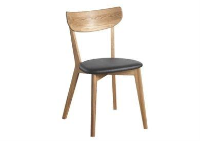 Ami stol 2 pack i ek från Rowico | Stolar, Stol ek, Matstolar