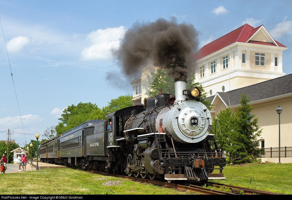 RailPictures.Net Photo: BRW 60 Black River & Western Steam 2-8-0 at Flemmington, New Jersey by Mitch Goldman