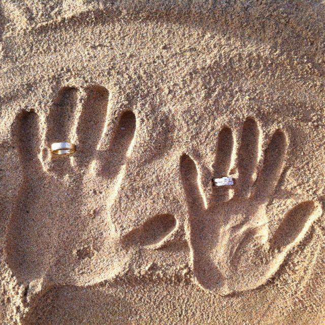 Картинка из песка поздравляю