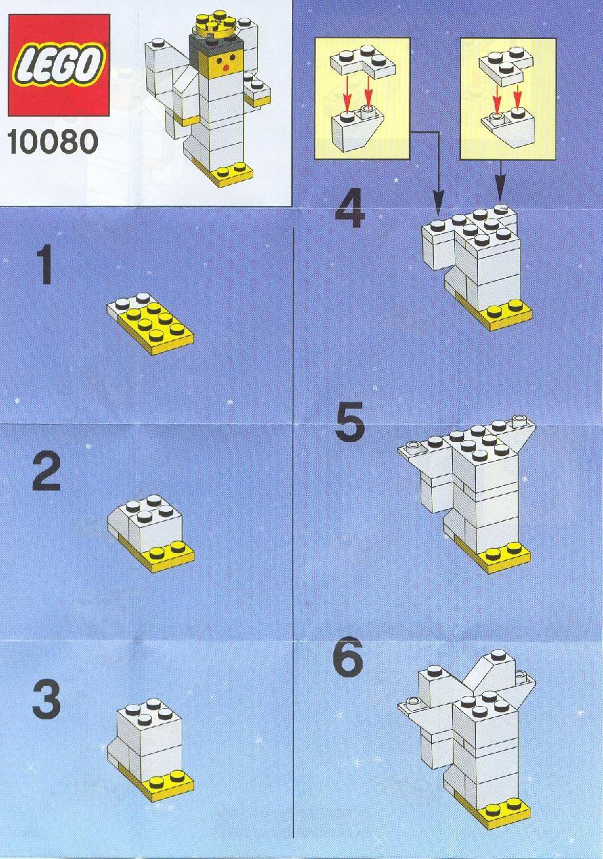 Angel lego instructions christmas pinterest lego