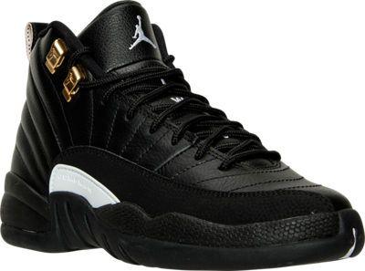 size 40 4a2fb 99a7c Boys' Grade School Air Jordan Retro 12 Basketball Shoes ...