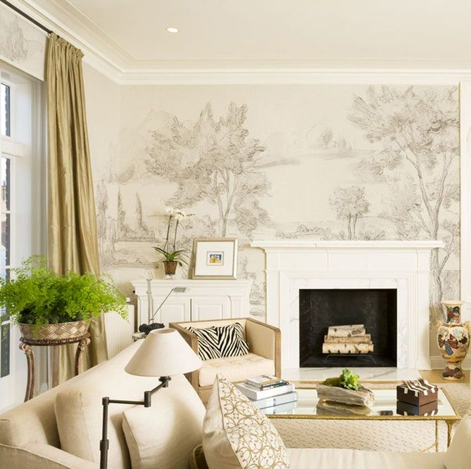 Dining Room wallpaper   Apartment style, Dining room ...