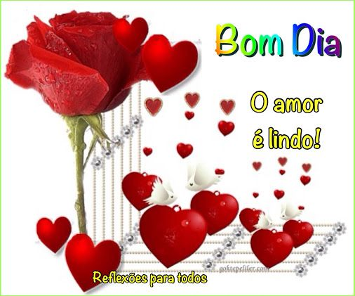 """️ """"O Amor é Lindo"""" (lindo Poema, Acesse)"""