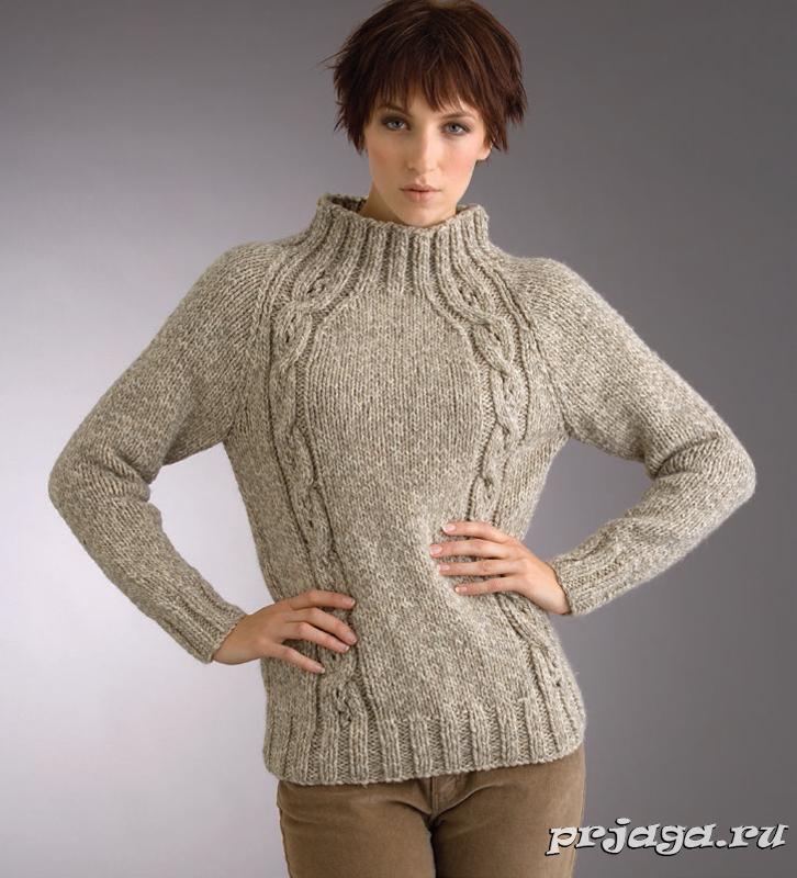 Образцы вязания для свитера реглан