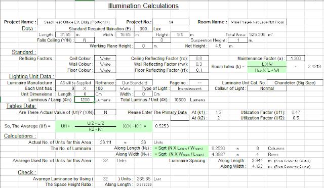 Lighting Calculations Excel Sheet Free Download Excel Electrical Layout Kindergarten Worksheets