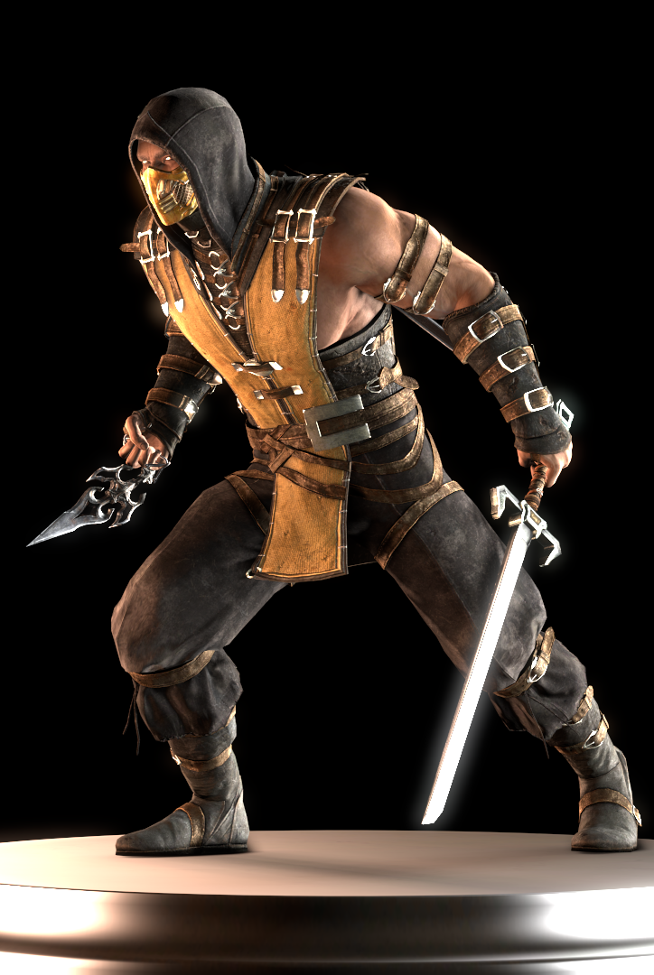 Scorpion Primary Scorpion Mortal Kombat Mortal Kombat Cosplay Mortal Kombat Characters