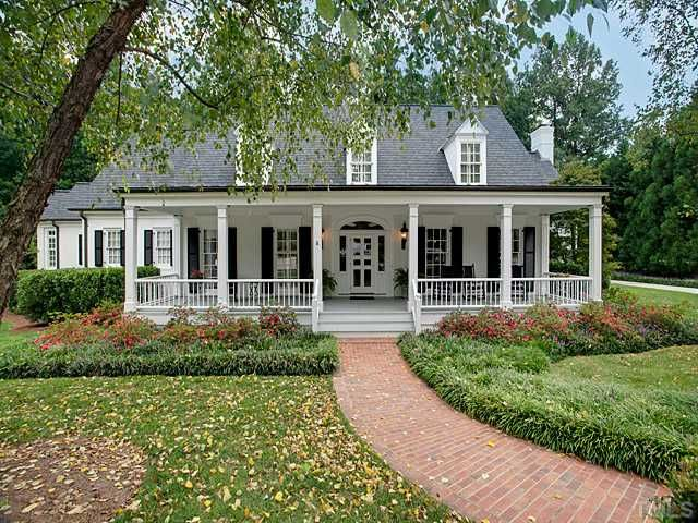 See this home on redfin 1908 chase ct raleigh nc 27607 for Traditional country homes