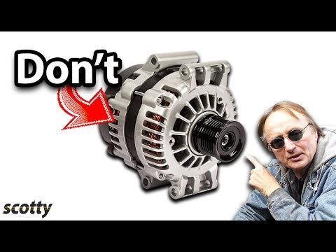 51 This Alternator Will Destroy Your Car Youtube Alternator Car Life Hacks Car Alternator