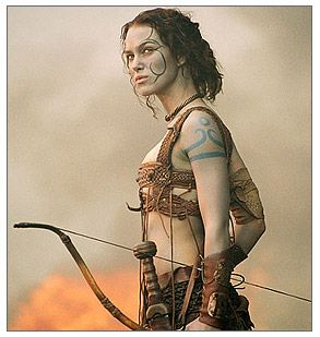 """Blue Woad Celtic and Pictish Tattoos - from """"Arthur"""" movie..."""