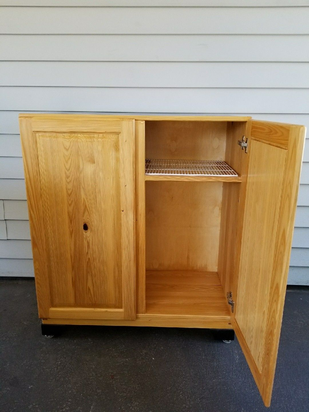 Cypress outdoor storage cabinet | Outdoor storage cabinet ...